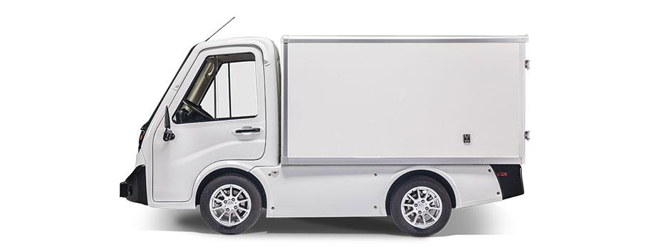 Elektrisch Waren bis zu 200 km transportieren